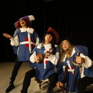 Porthos, Aramis, Athos - le concert